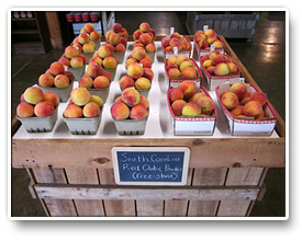 Pleasant View Orchard Fresh Peaches